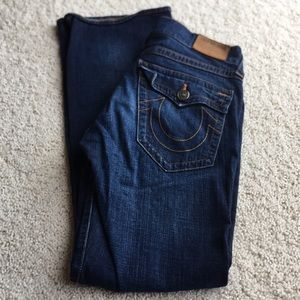 True Religion Billy Relaxed Bootcut.   Size 31